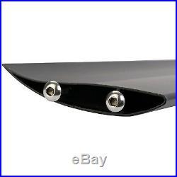 Universal Rear Tail Car Wing Spoiler GT Racing Black Lightweight Aluminum 110cm