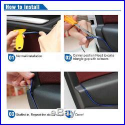 Universal Red Edge Gap Line Car Interior Accessories Molding Garnish 5M UK