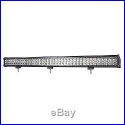 Update 3-Row 37INCH 819W Spot Flood Combo Work Light Bar Offroad Driving Lamps