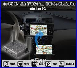 WIFI Mirror Mirabox 5G Home/Car Wifi Mirrorlink Box For iOS AirPlay Android Ipad