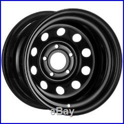 X4 15x10 ET-32 BLACK DEEP DISH MODULAR STEEL WHEELS DISCOVERY 2 5x120