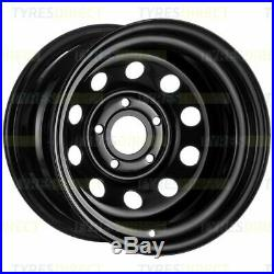 X4 16x10 BLACK DEEP DISH MODULAR STEEL WHEELS 5x120 ET-32 DISCOVERY 2